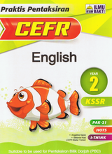Load image into Gallery viewer, Praktis Pentaksiran CEFR English Year 2