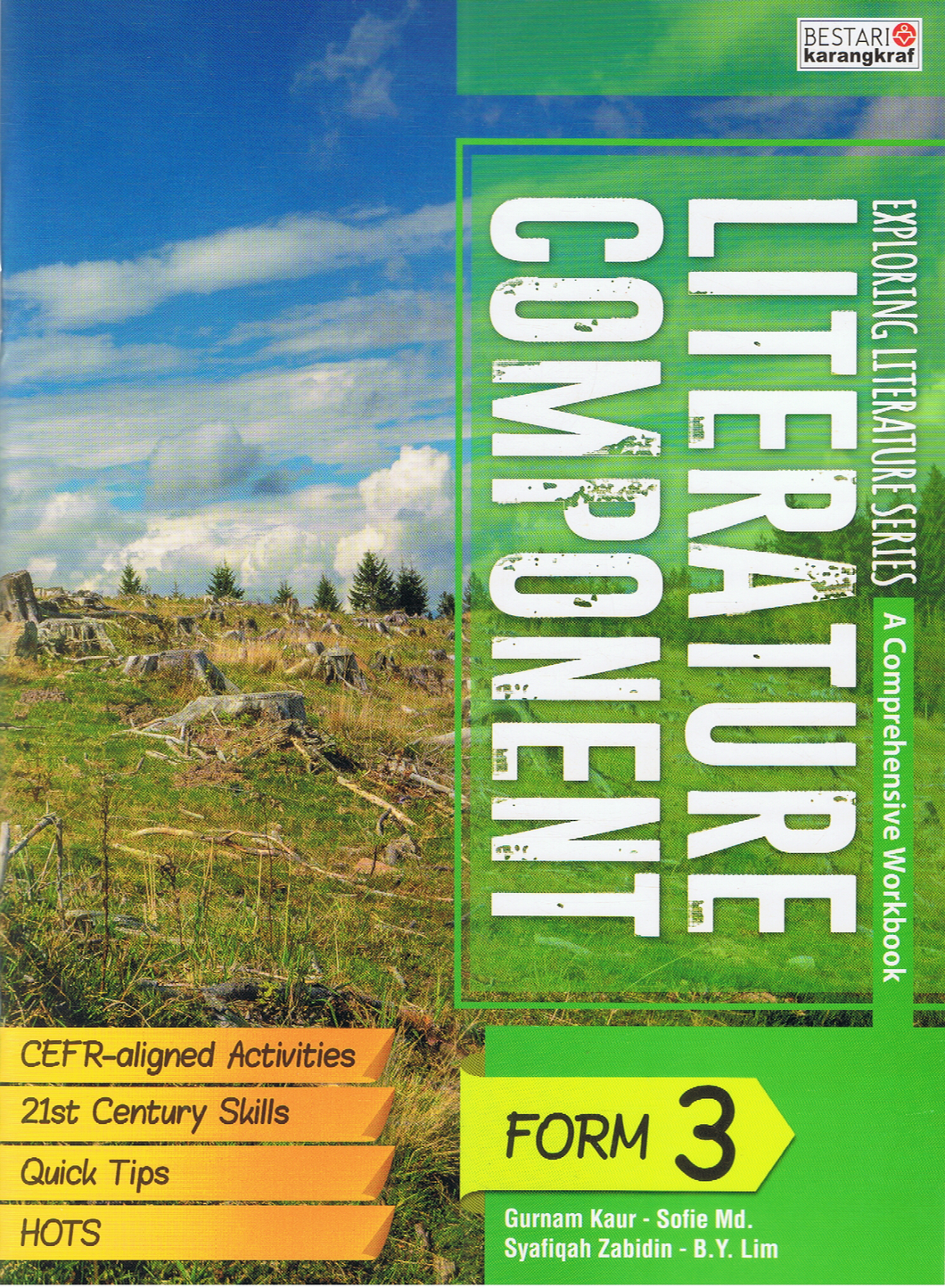 Exploring Literature Series A Comprehension Workbook: Literature Component Form 3