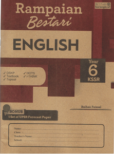 Rampaian Bestari: English Year 6