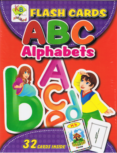 Flash Cards: ABC Alphabets