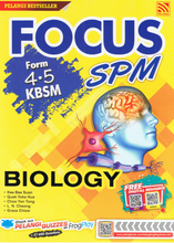Load image into Gallery viewer, Focus SPM: Biology Form 4,5
