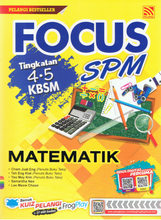 Load image into Gallery viewer, Focus SPM: Matematik Tingkatan 4,5