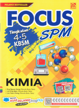 Load image into Gallery viewer, Focus SPM: Kimia Tingkatan 4,5