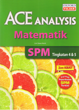 Load image into Gallery viewer, Ace Analysis: Matematik Tingkatan 4,5
