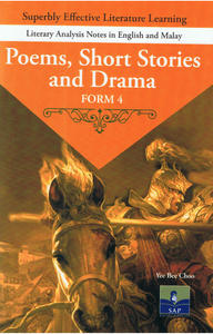 Literary Analysis Notes In English And Malay: Poems, Short Stories And Drama