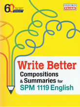 Load image into Gallery viewer, Write Better Compositions & Summaries For SPM 1119 English