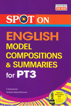 Load image into Gallery viewer, Spot On: English Model Compositions & Summaries For PT3