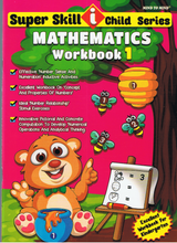 Load image into Gallery viewer, Super Skill I Child Series: Mathematics Workbook 1