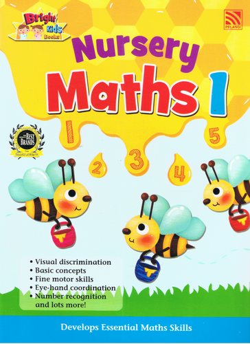 Bright Kids Books: Nursery Maths 1