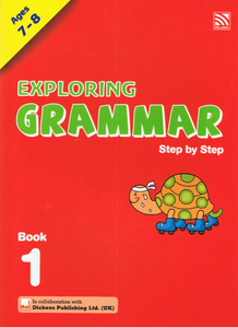 Exploring Grammar Step By Step Book 1 Ages 7-8