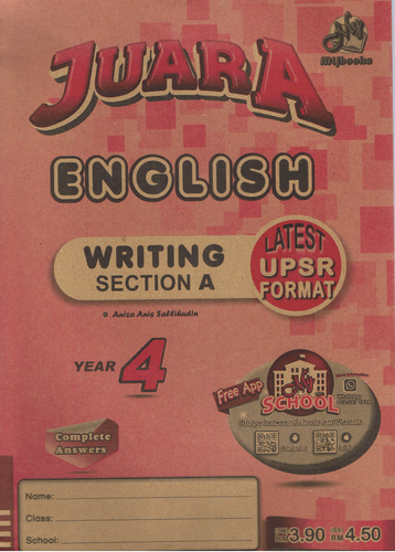 Juara: English Writing Section A Year 4