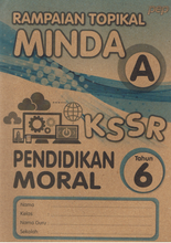 Load image into Gallery viewer, Rampaian Topikal Minda: Pendidikan Moral Tahun 6
