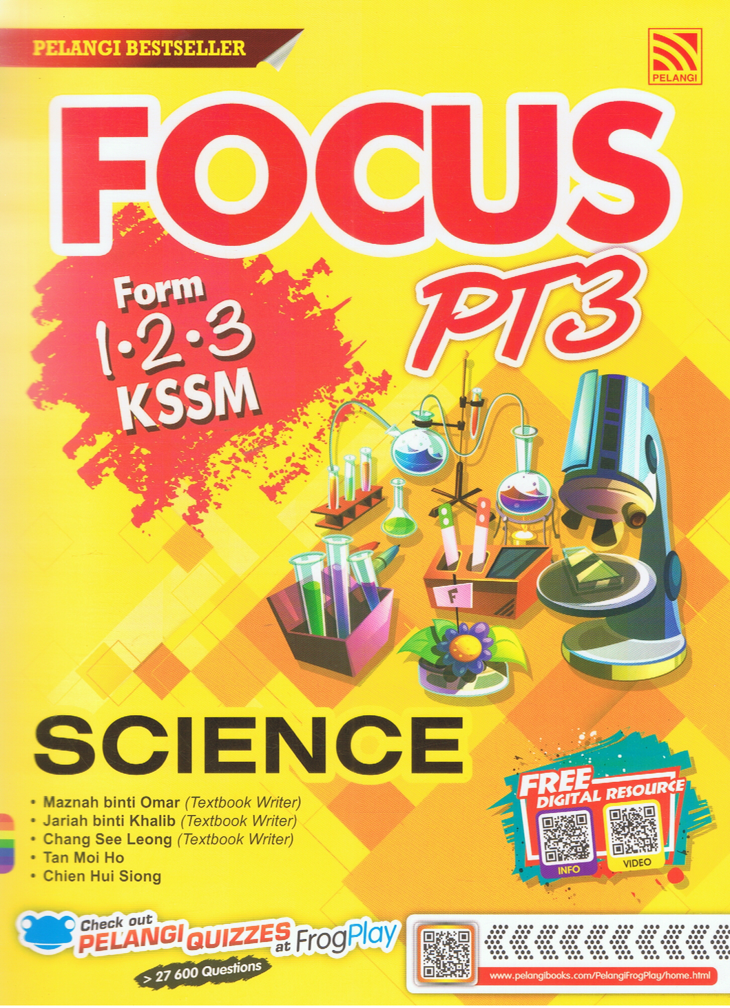 Focus PT3: Science Form 1,2,3