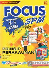 Load image into Gallery viewer, Focus SPM: Prinsip Perakaunan Tingkatan 4,5