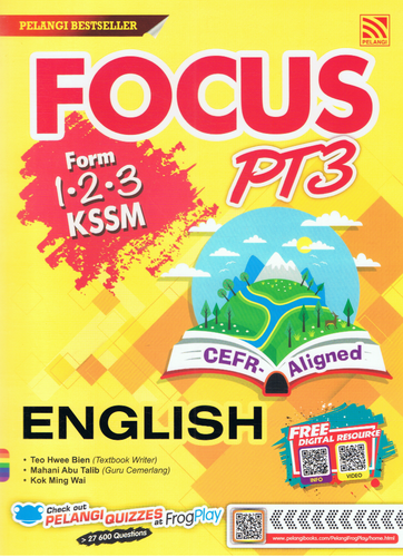 Focus PT3: English Form 1,2,3