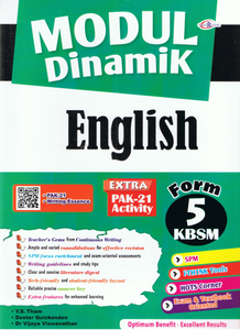 Modul Dinamik: English Form 5