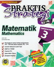 Load image into Gallery viewer, Praktis Strategi: Matematik Tingkatan 3
