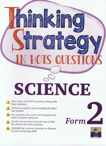 Thinking Strategy In Hots Questions: Science Form 2
