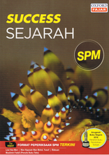 Load image into Gallery viewer, Success: Sejarah SPM