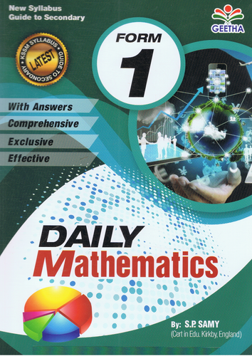 Daily Mathematics Form 1
