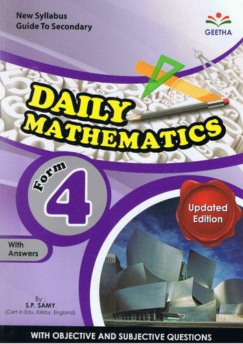 Daily Mathematics Form 4