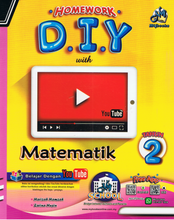 Load image into Gallery viewer, Homework D.I.Y: Matematik Tahun 2