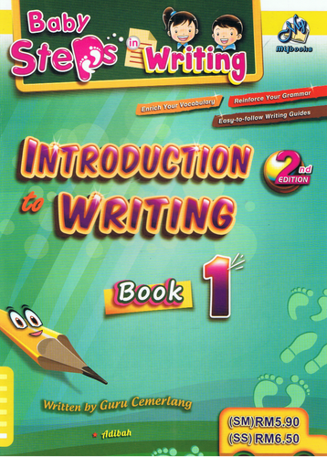 Baby Steps In Writing: Introductions Writing Book 1
