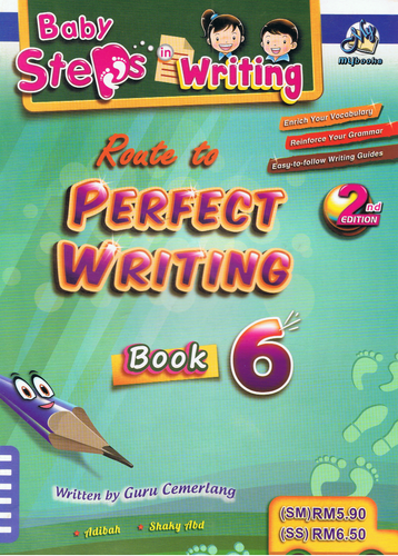 Baby Steps In Writing: Roate To Perfect Writing Book 6