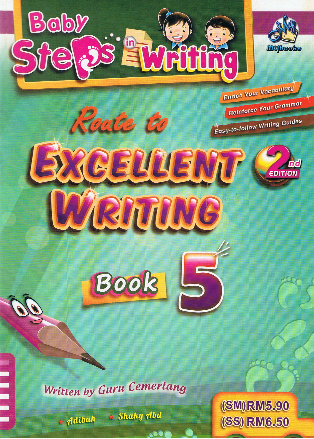 Baby Steps In Writing: Roate To Excellent Writing Book 5