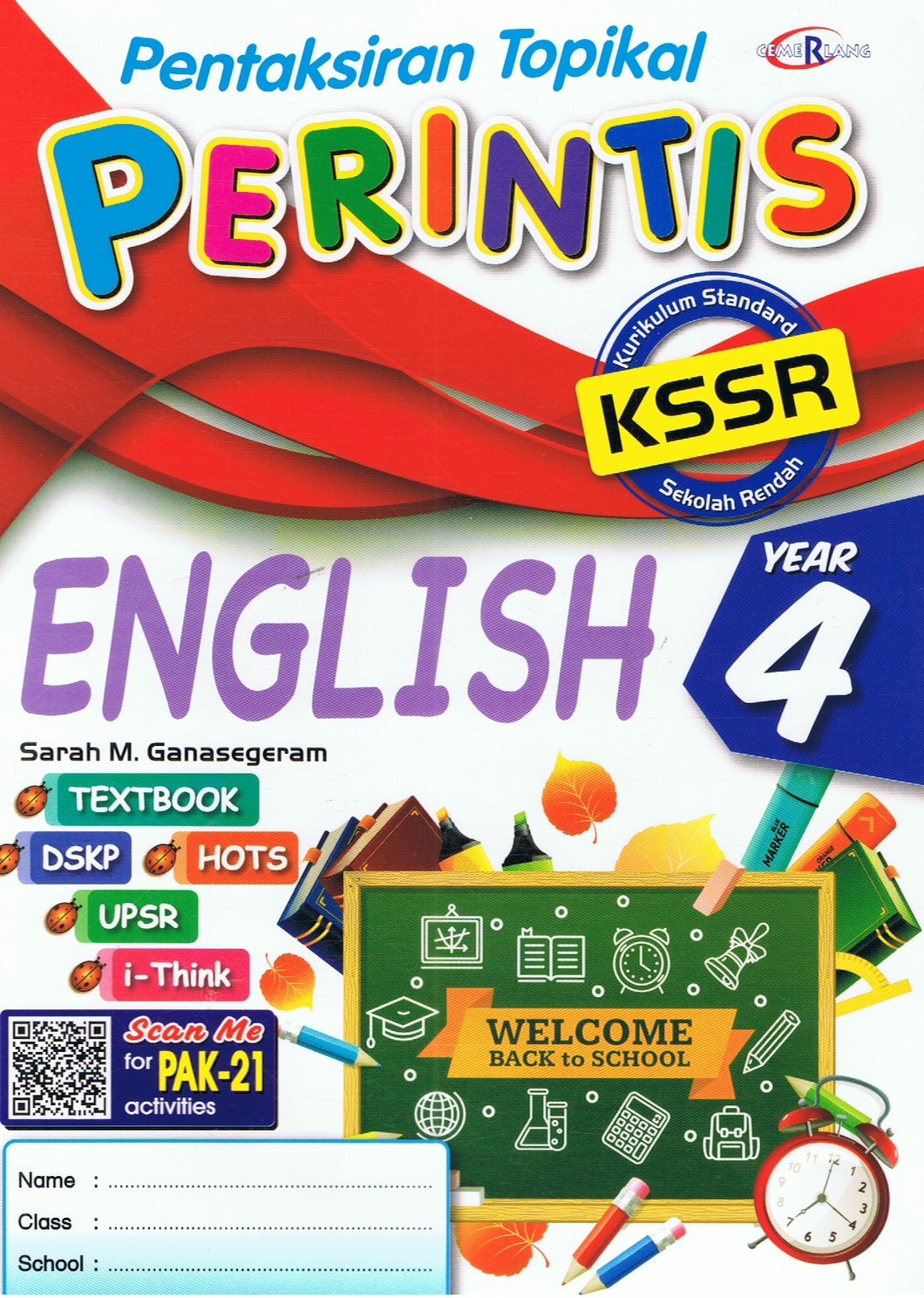 Pentaksiran Topikal Perintis: English Year 4
