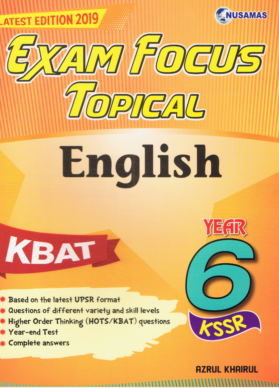 Exam Focus Topical: English Year 6