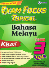 Load image into Gallery viewer, Exam Focus Topical: Bahasa Melayu Tahun 3