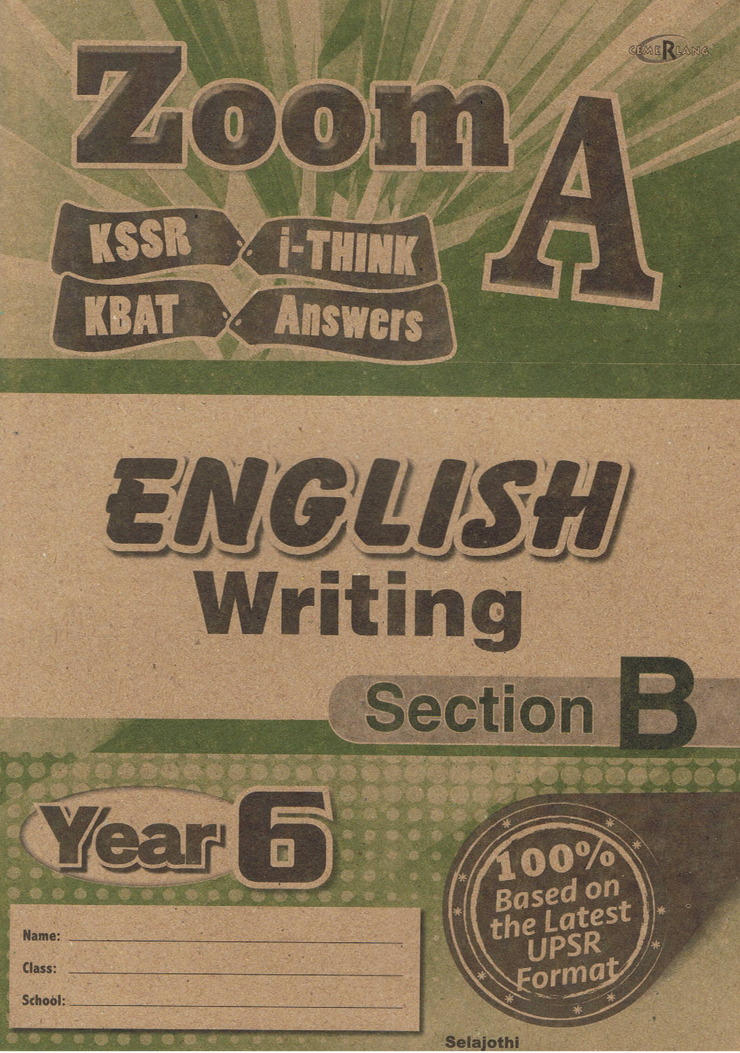 Zoom A: English Writing Year 6