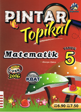 Load image into Gallery viewer, Pintar Topikal: Matematik Tahun 5