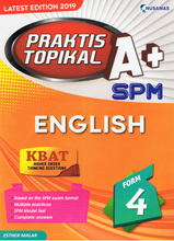Load image into Gallery viewer, Praktis Topikal A+: English SPM Form 4