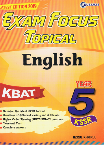 Exam Focus Topical: English Year 5