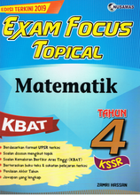 Load image into Gallery viewer, Exam Focus Topical: Matematik Tahun 4
