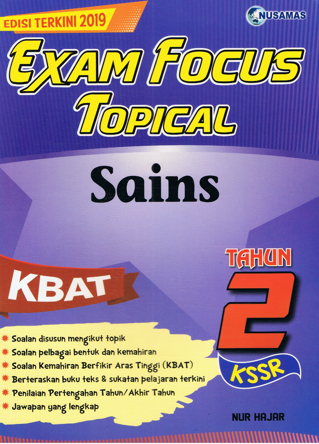 Exam Focus Topical: Sains Tahun 2