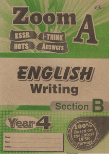 Zoom A: English Writing Section B Year 4