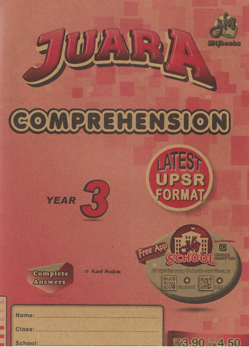 Juara: Comprehension Year 3