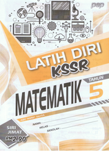 Load image into Gallery viewer, Latih Diri: Matematik Tahun 5