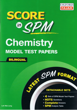 Load image into Gallery viewer, Score In SPM: Chemistry Bilingual