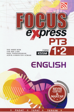 Load image into Gallery viewer, Focus Express PT3: English Form 1,2