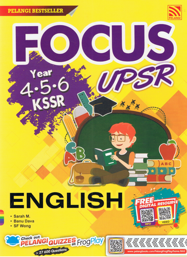 Focus UPSR: English Year 4,5,6
