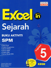 Load image into Gallery viewer, Excel In: Sejarah Tingkatan 5 SPM