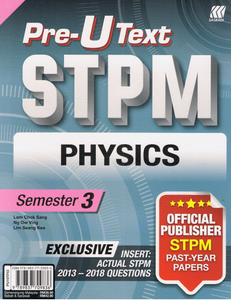 Pre-U Text STPM: Physics Semester 3