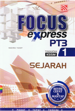 Load image into Gallery viewer, Focus Express PT3: Sejarah Tingkatan 1
