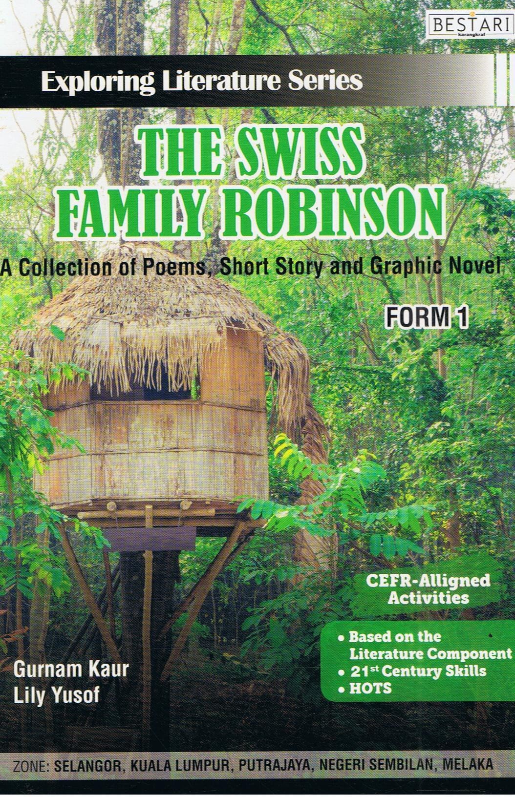 Bestari Karangkraf-Exploring Literature Series: The Swiss Family Robinson Form 1-9789674741815-BukuDBP.com
