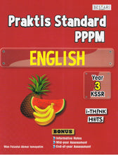 Load image into Gallery viewer, Bestari Karangkraf-Praktis Standard PPPM: English Year 3-9789674742546-BukuDBP.com