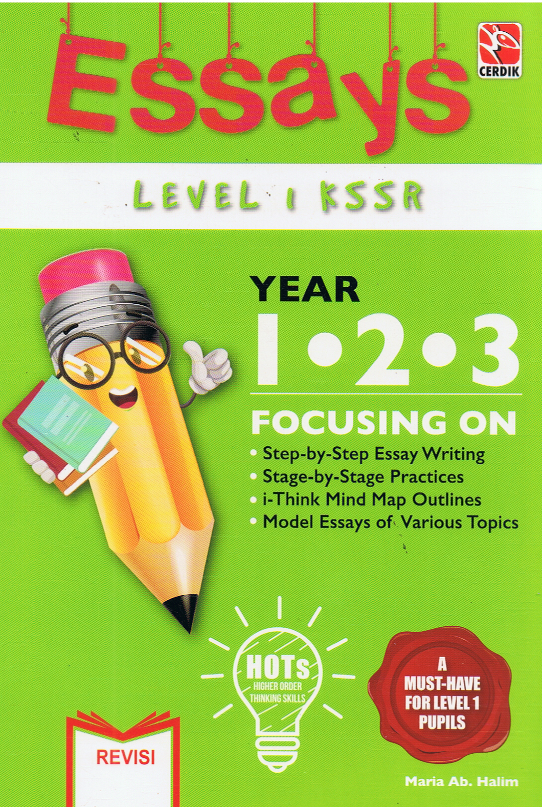Cerdik-Essays Level 1 KSSR Year 1,2,3-9789837056176-BukuDBP.com